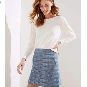 Plus Tweed Skirt